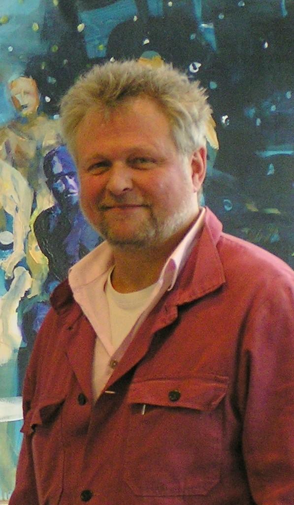 Foto von Maler Bodo Kriehn in Hamburg